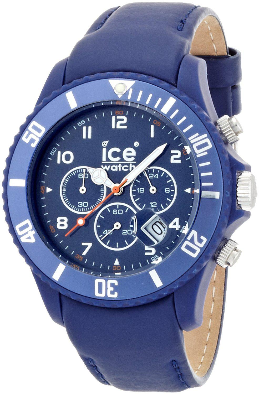 Ice-Watch - CH.BK.B.L.11 (Montre Homme - Bracelet Cuir - Plusieurs coloris)