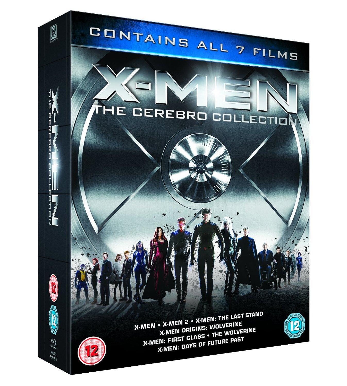 Sélection de coffrets Blu-ray en promotion - Ex : X-Men - The Cerebro Collection (VO)