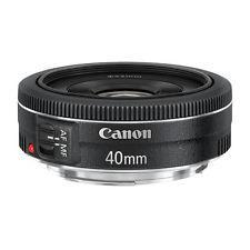 Objectif à focale fixe Canon EF Pancake - 40 mm f/2.8 STM