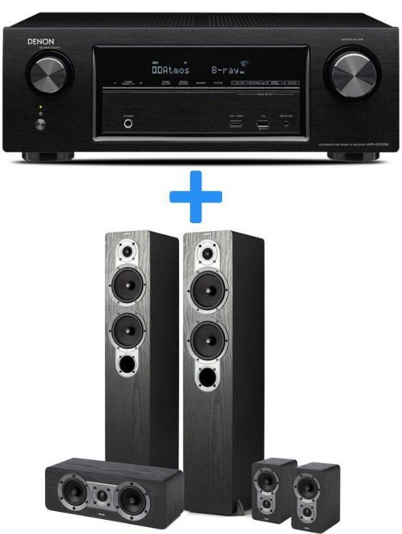 Pack ampli Denon AVR-X1200W + enceintes Jamo S426 (HCS 3)