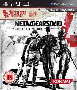 Metal Gear Solid 4: Guns of the Patriots - 25th Anniversary Edition sur PS3