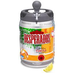 Sélection de promotion - Ex : lot de 2 fûts de Desperados (via 11.08€ sur la carte)