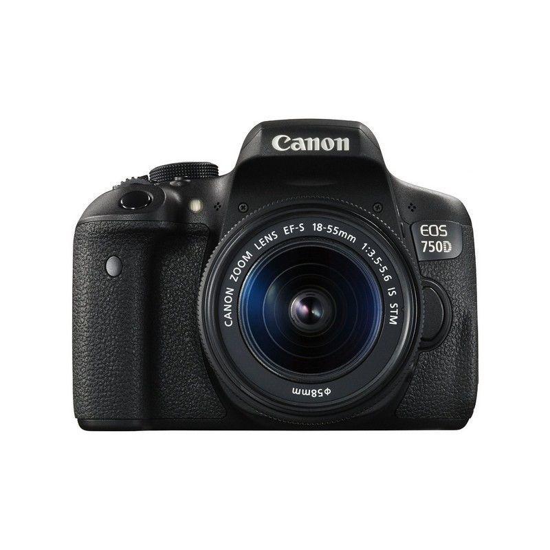 Sélection d'appareils photo en promotion - Ex : Canon Eos 750D + Objectif 18-55mm