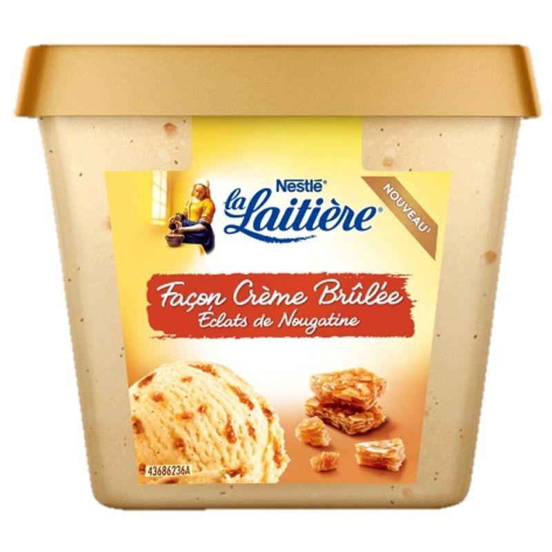 Sélection d'optimisations et de promotions - Ex : Crème glacée Nestlé La Laitière - 430 g (via 1.40€ sur la carte + BDR)
