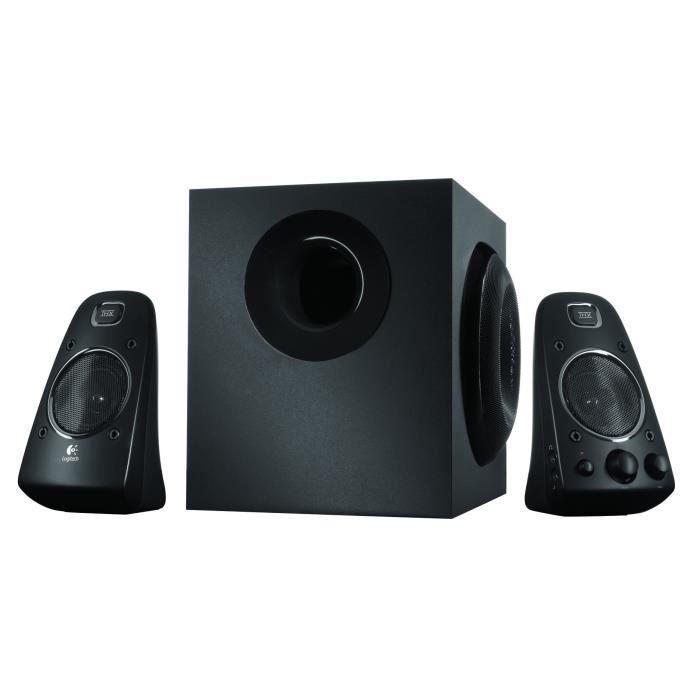 Haut-parleurs 2.1 Logitech System Z623 - 200W - certifiés THX