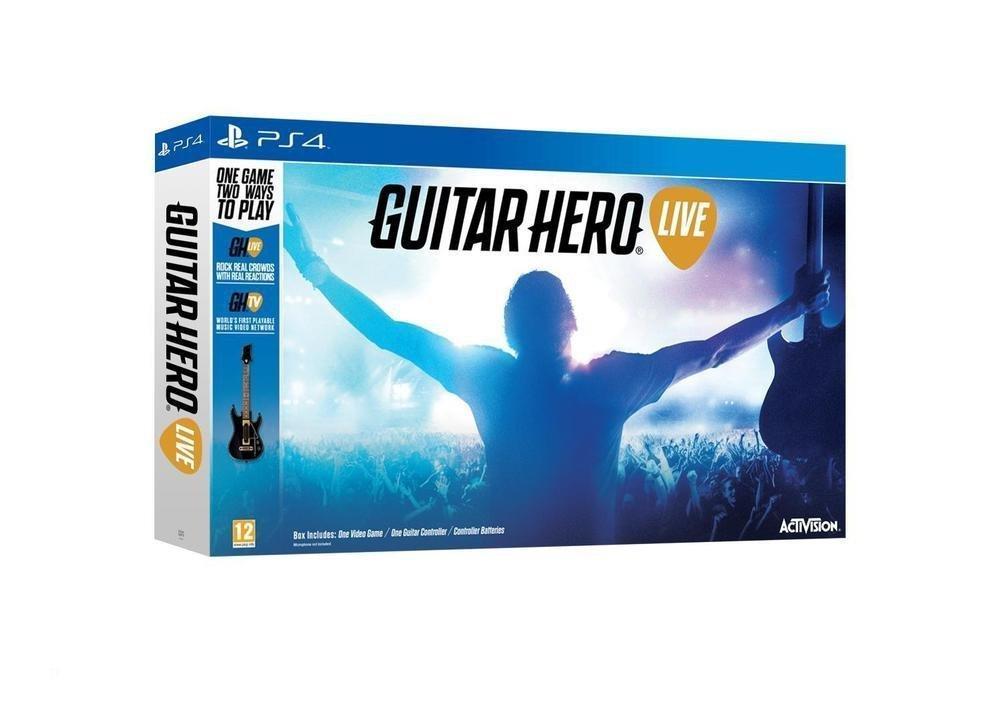 Guitar Hero Live sur PS3 / Wii U / Xbox 360 à 29.99€ et sur PS4 / Xbox One