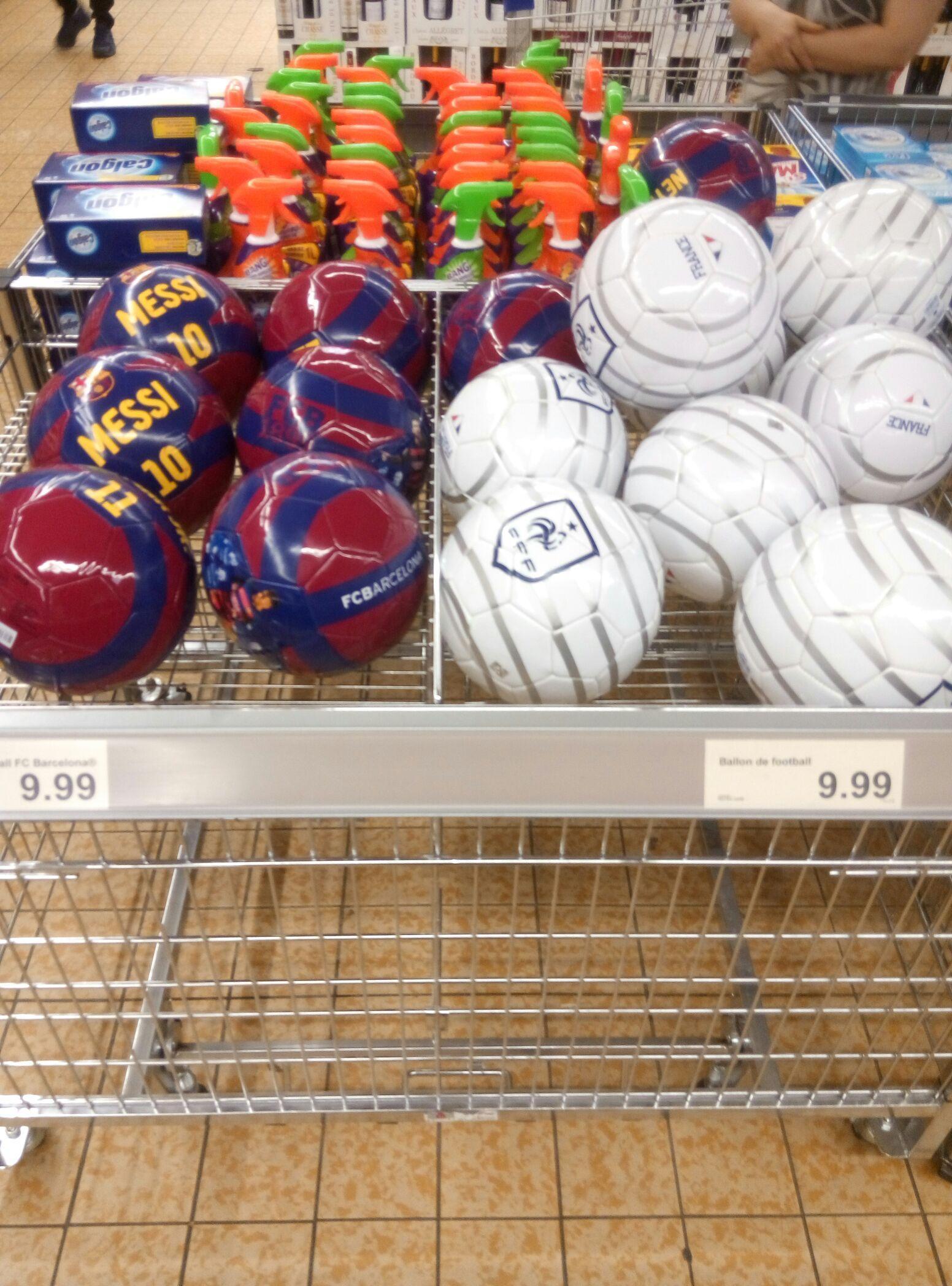 Ballon de football FFF