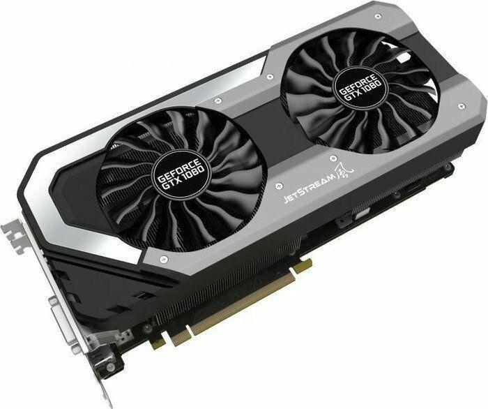 Sélection de Carte graphiques - Ex : Carte graphique Palit GeForce GTX 1080 Super Jetstream PCIe 3.0 x16 8Go