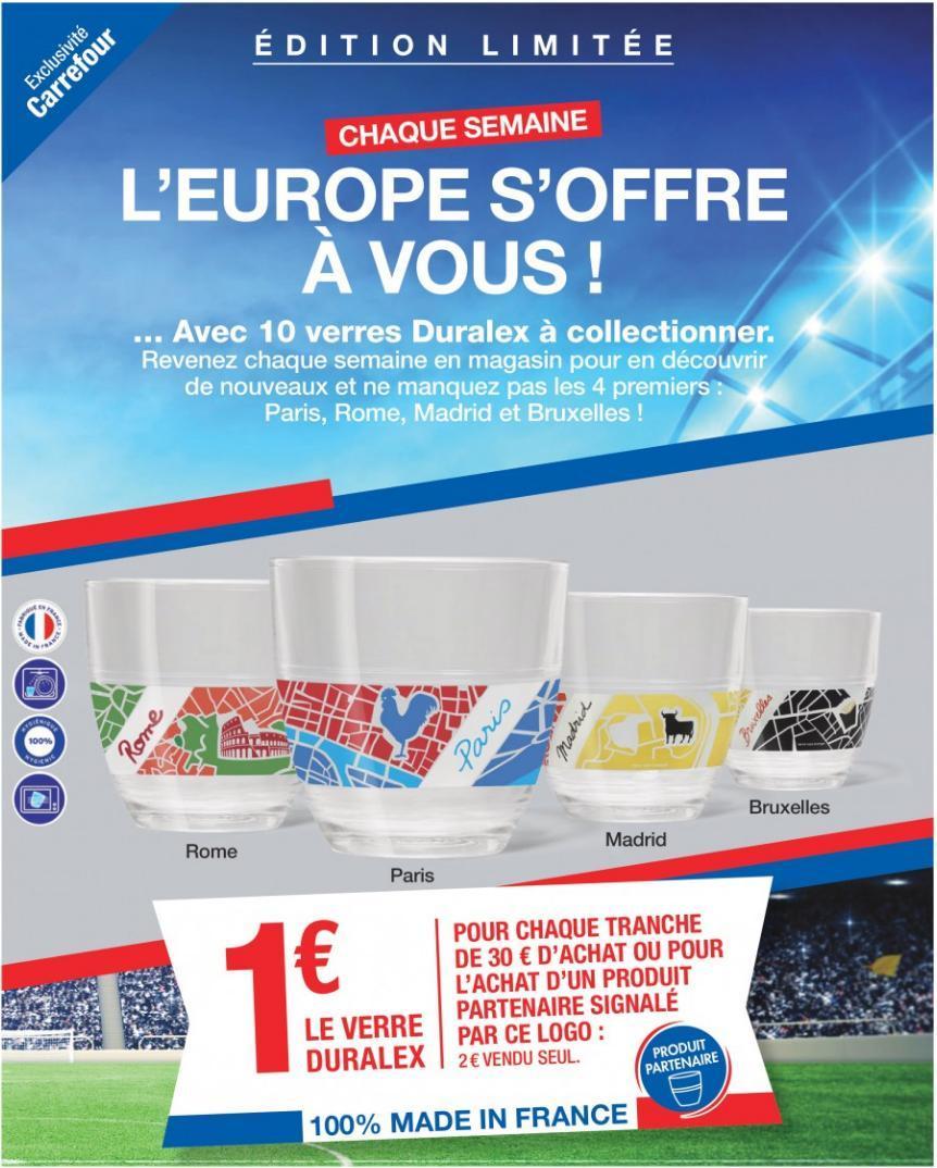 Verre Duralex Edition Limitée Collector dès 30€ d'achats de produits partenaires