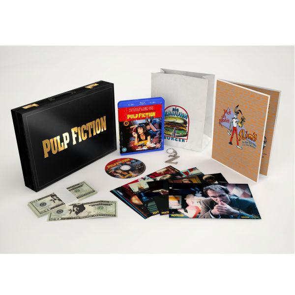 Coffret Blu-ray Pulp Fiction - The 20th Anniversary Deluxe Box (VO)
