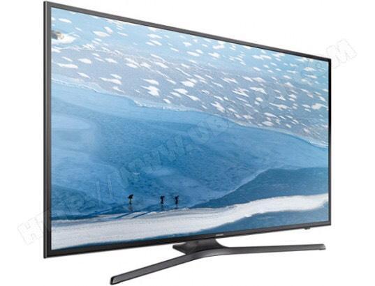 """TV 55"""" Samsung UE55KU6000 - 4K, HDR, Wifi (via ODR de 185,20€)"""