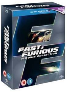 Coffret Blu-ray : Intégrale de Fast and furious (VF/VOSTFR)