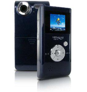 """Caméscope de poche Vistaquest DV-100 - Ecran 1,44"""", 1,3 Mpix, Zoom Numérique 4x - Bleu"""