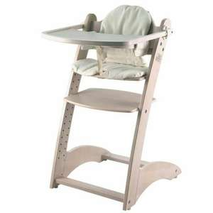 Chaise Haute en bois Yaris First Baby Safety - Blanc
