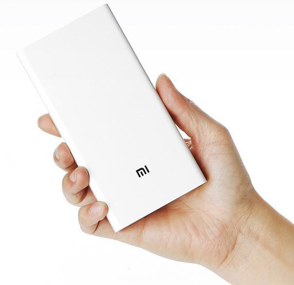 Batterie externe Xiaomi Powerbank 20000 mAh - 2 ports, Quick Charge 2.0 (Entrée)