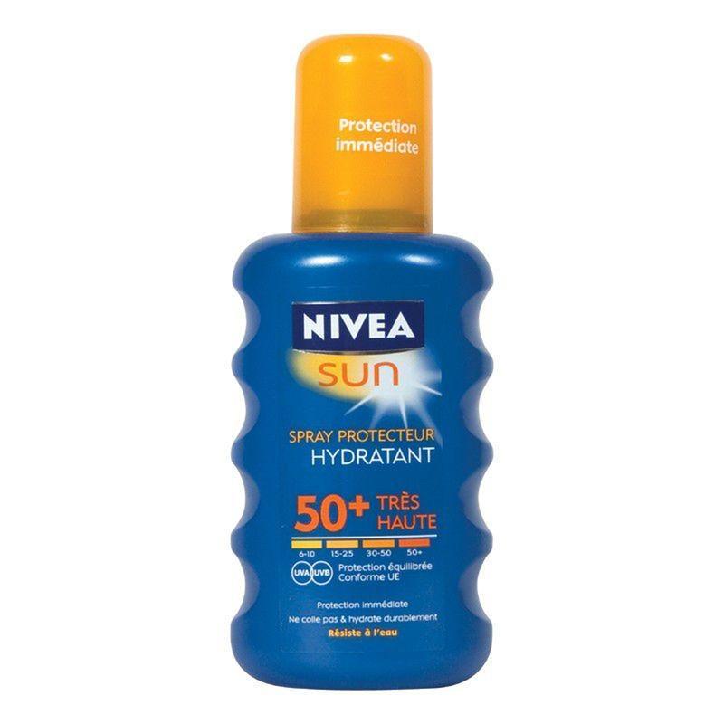 Crème solaire Nivea Sun Spray - IP50+ (200 ml)
