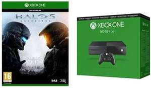 Pack Console Microsoft Xbox One 500 Go reconditionnée + Halo 5