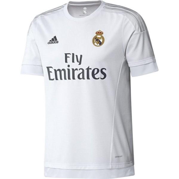 Maillot Football Adidas Real Madrid Domicile 2015/2016 Blanc