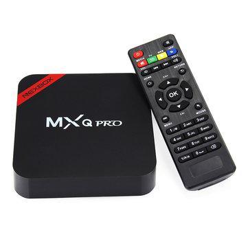 Android Box MXQ Pro Plus 4K (16 Go ROM, 2 Go RAM)