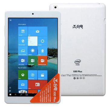 "Tablette 8"" Teclast X80 Plus Dual Boot Windows 10/Android 5.1 (2 Go Ram)"