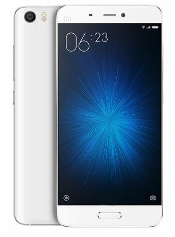 "Smartphone 5.15"" Xiaomi Mi5 (double SIM, 3 Go de RAM, 32 Go) - blanc ou or"