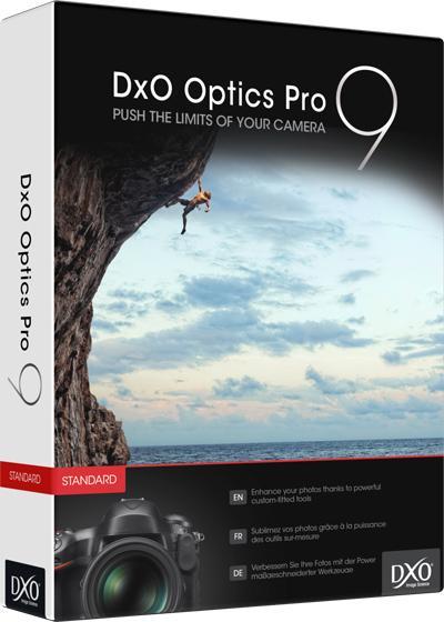 Logiciel DXO Optics Pro 9 Elite gratuit sur PC et Mac