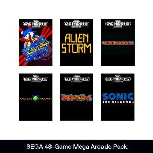 Sega Mega Pack 48 jeux PC