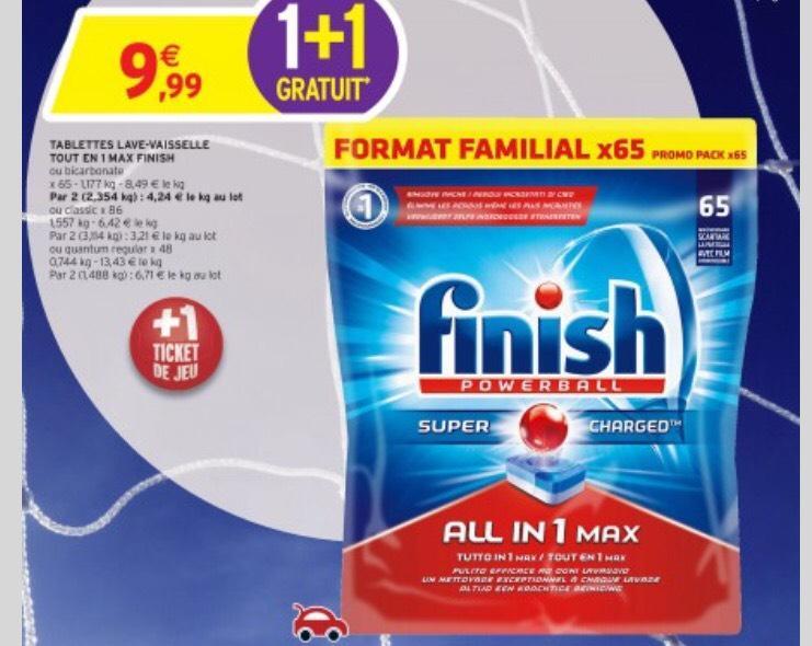 Lot de 172 Tablettes Finish Classique pour Lave-vaisselles
