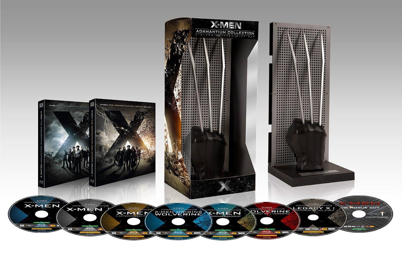 Coffret Blu-Ray  X-Men et Wolverine en Édition Limitée Adamantium - L'intégrale des 7 films