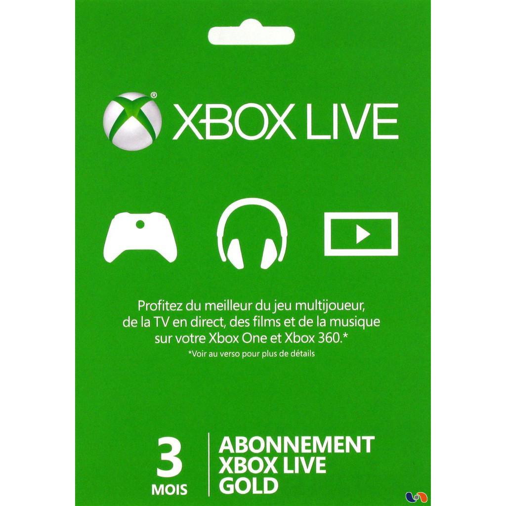 Un abonnement de 3 mois au Xbox Live acheté = 10€ offerts sur le Xbox live soit le tout