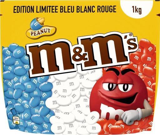 Paquet de M&M's Peanut (1 kg)