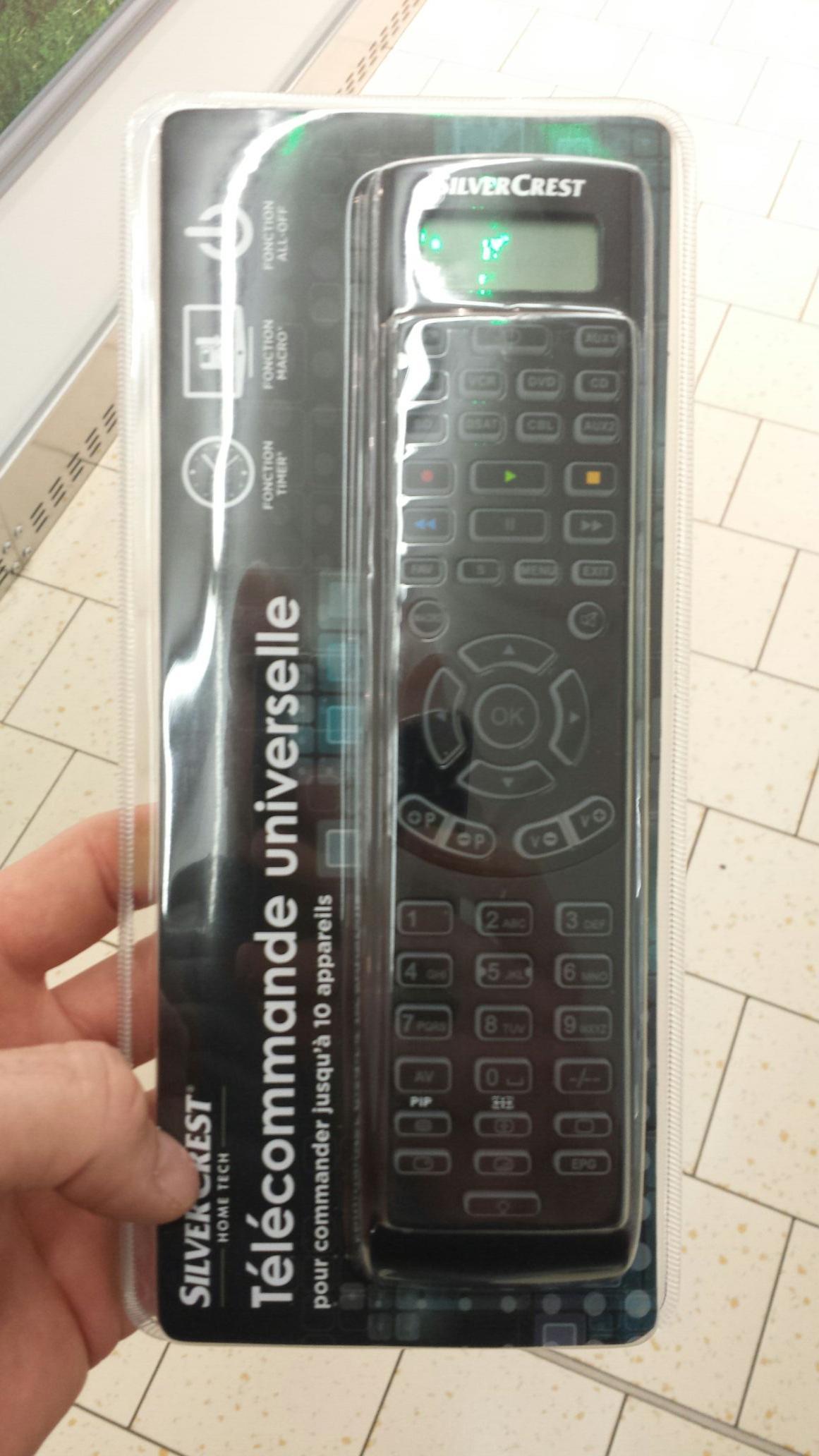 Télécommande universelle SilverCrest