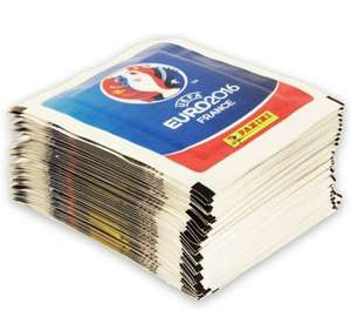 Lot de 250 stickers Panini Euro 2016