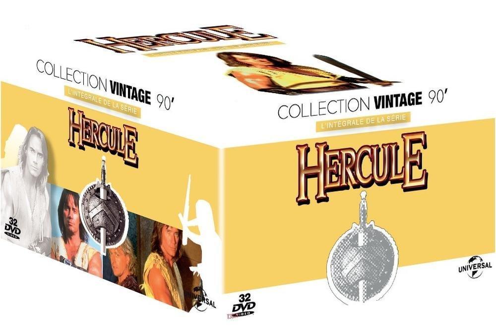 Séléction de coffrets Blu-Ray et DVD en promotion - Ex : Hercule L'Intégrale (DVD)