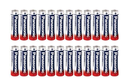 Sélection de Piles Panasonic en promotion - Ex : lot de 24 piles LR6
