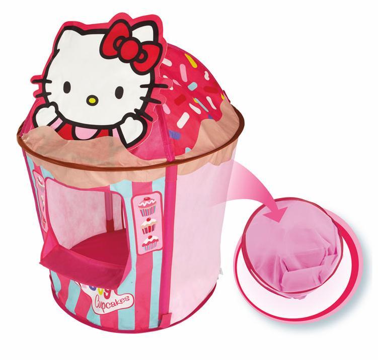 """Sélection de produits """"dessins animés"""" en promotion - Ex : Tente Cupcake Hello Kitty - Rose"""