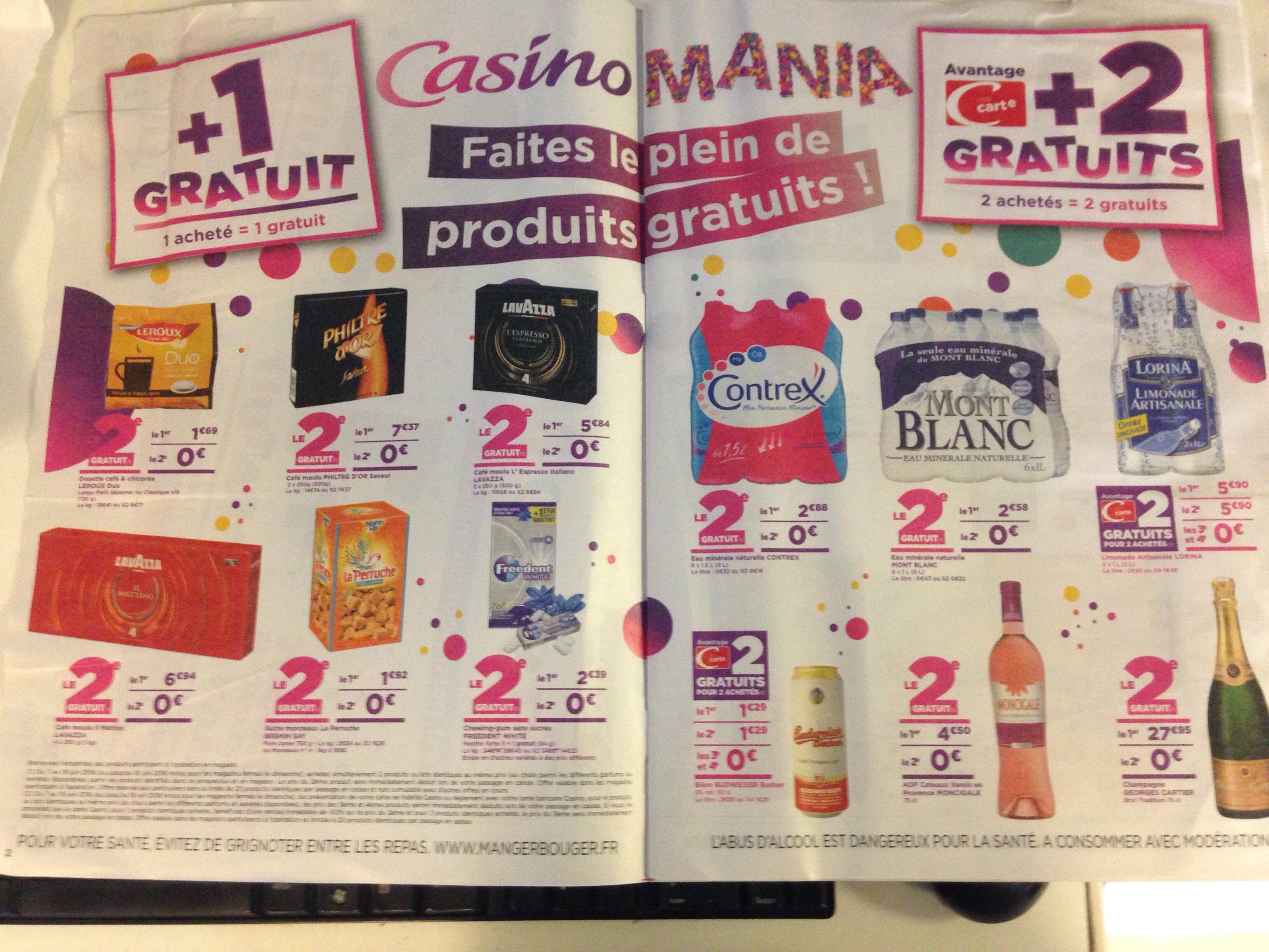 Sélection d'articles 1 acheté = 1 offert - Ex : 2 Paquets de 18X Dosettes café Chicorée Leroux