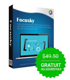 Logiciel de présentation Focusky Pro 2.13 gratuit pour 6 Mois sur Windows & Mac OS
