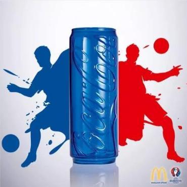 1 menu acheté = 1 verre Coca-Cola UEFA Euro 2016 (différents coloris)