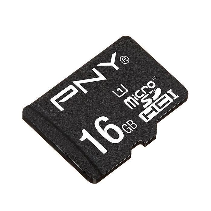 Carte MicroSD PNY 16 Go Class 10