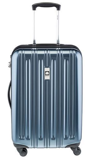 Valise cabine rigide Delsey Air Longitude - 55cm, Bleu