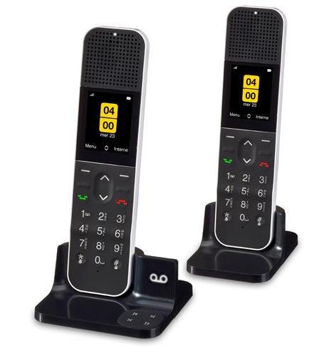 Lot de 2 téléphones fixes HD Allure Duo