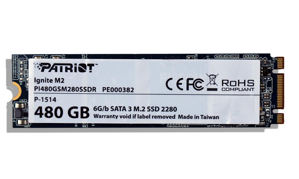SSD Patriot Ignite M.2 480 Go (MLC)