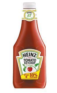 Flacon de 1.17L de Ketchup Heinz