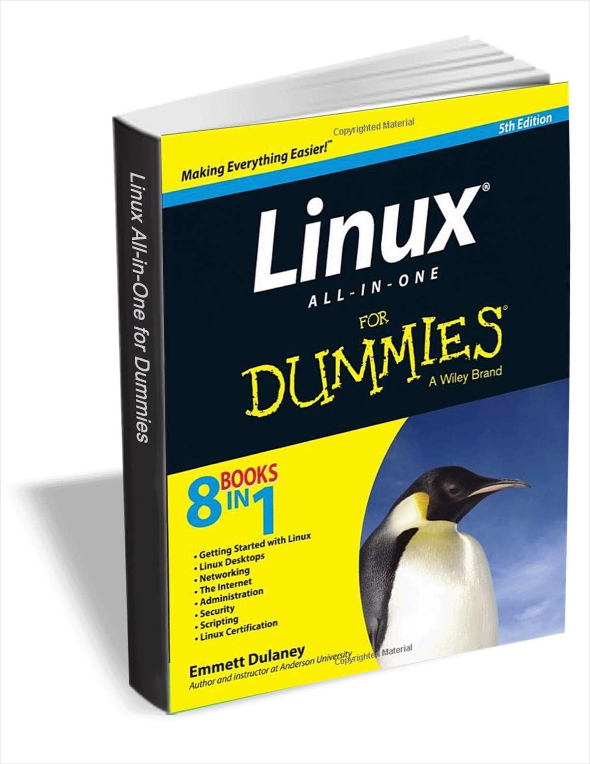 Livre Linux pour les nuls 5éme édition en Anglais (version numérique) gratuit