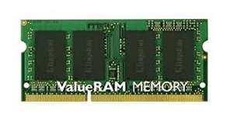 Mémoire RAM Kingston KVR13S9S8/4 - So dimm, 4 Go, DDR3, 1333 MHz, CL9