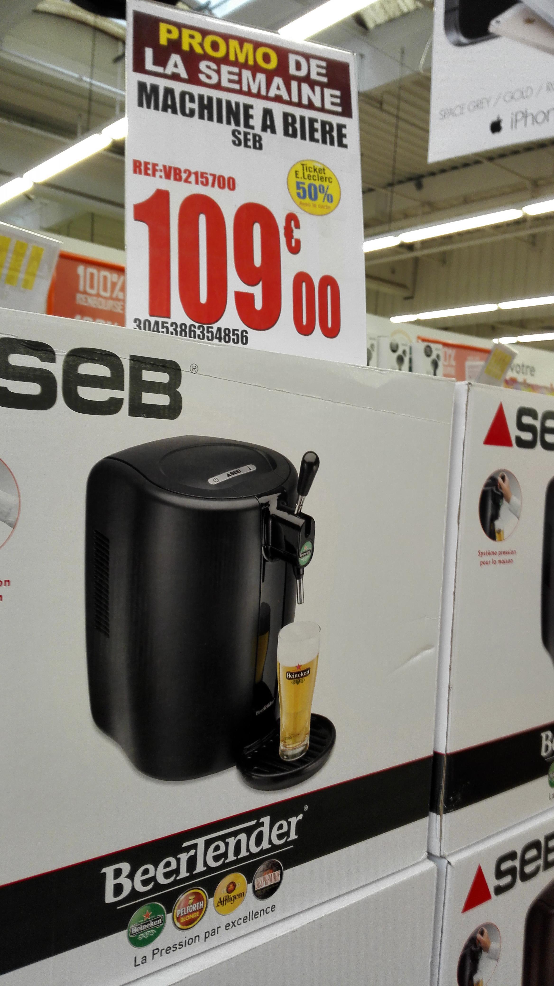 Pompe à bière Seb VB215700 (via 54,50€ en tickets Leclerc)