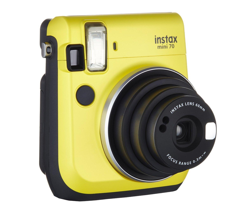 Appareil photo Instantané Fujifilm Instax Mini 70 - Jaune