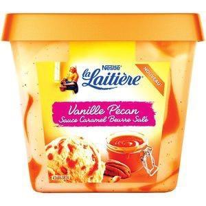 Crème glacée La Laitière - 430g (via BDR)