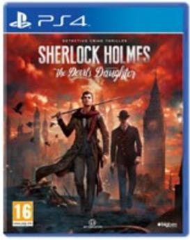Jeu Sherlock Holmes The Devil's daughter sur PS4